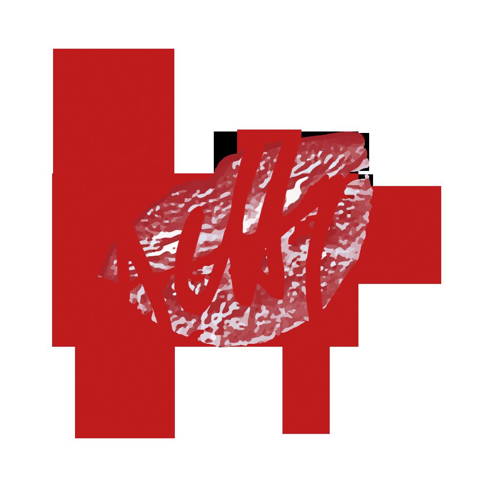 Betty´s Logo - Unterschrift mit Kussmund