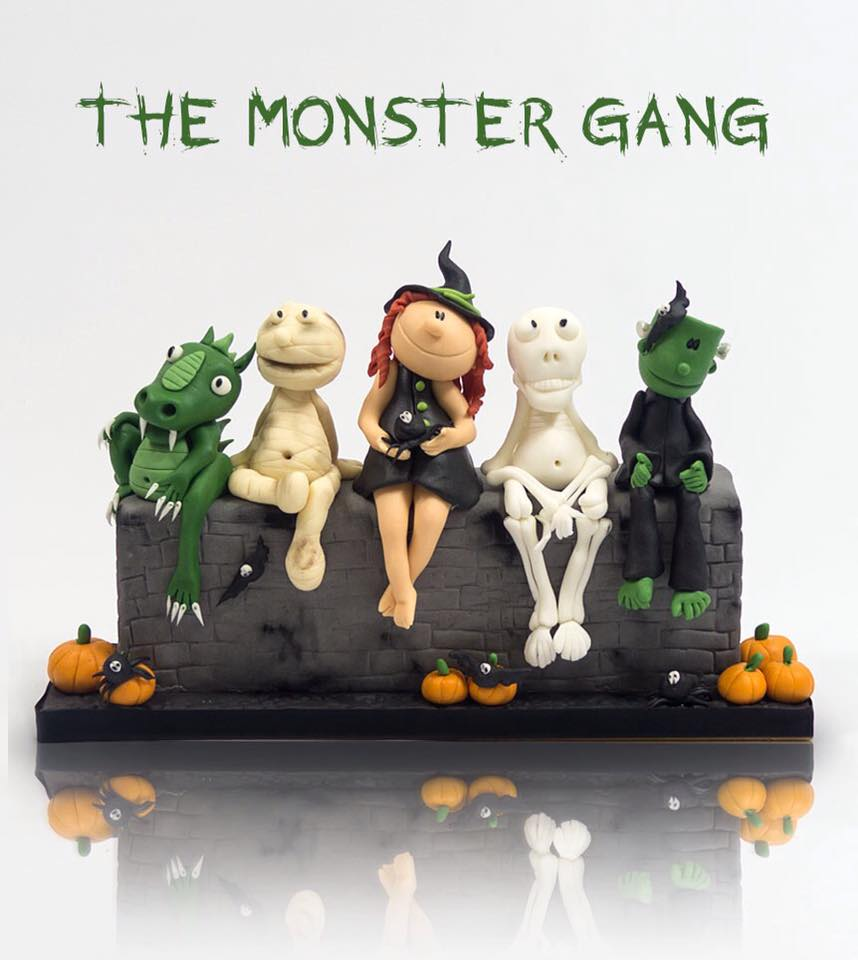 Paul Bradford Sugarcraft School - The Monster Gang