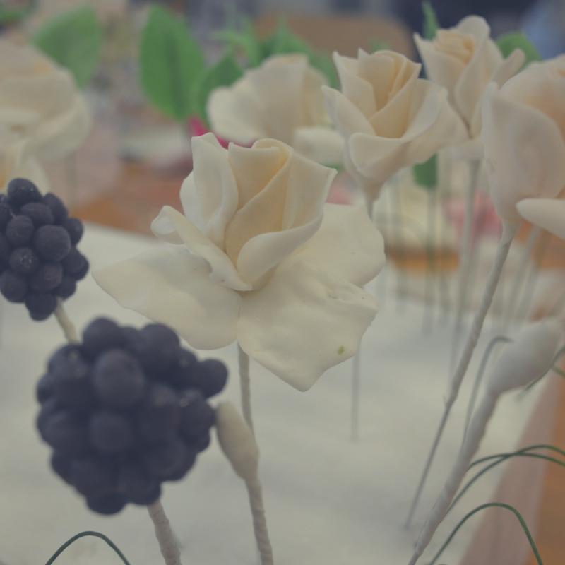 Der erste Tag - Zuckerblumen