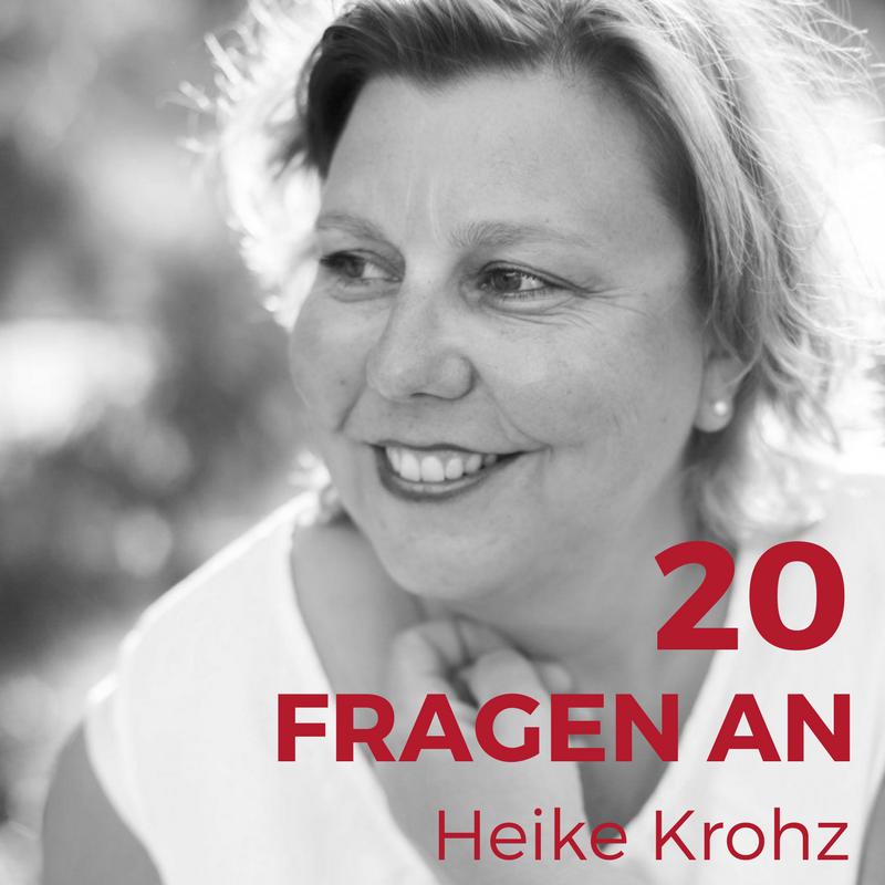 20 Fragen an - Heike Krohz von Suess & Salzig und dem Blog backlinse.de