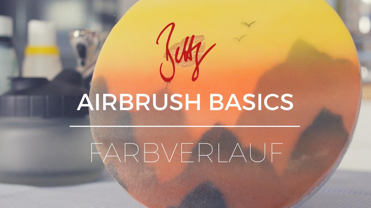 Airbrush Basics - Farbverlauf