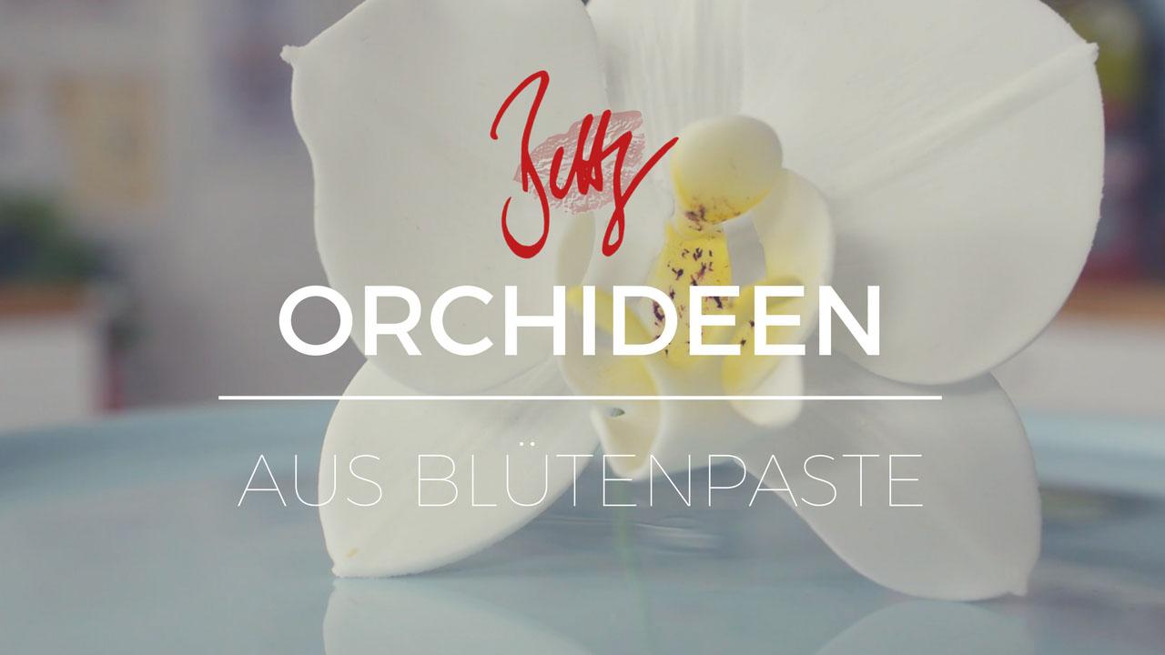 Orchideen aus Blütenpaste modellieren, neue Folge auf YouTube