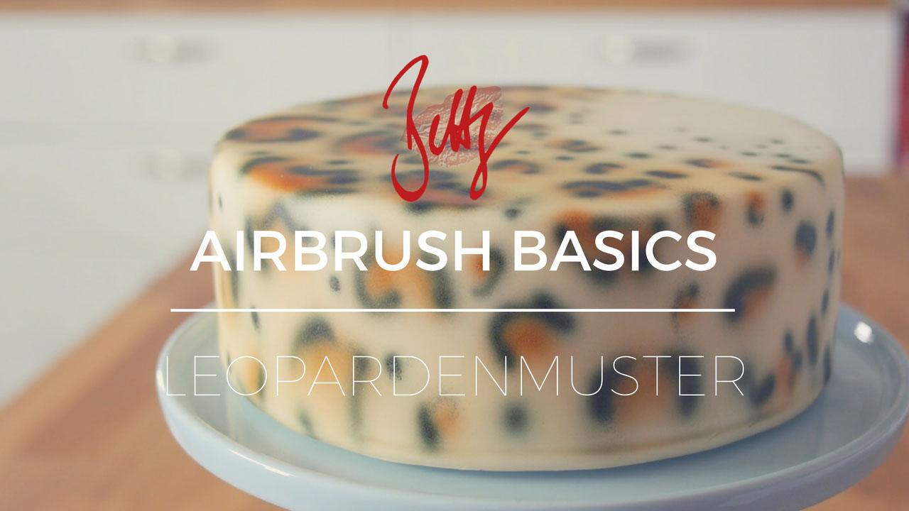 Eine neue Folge auf meinem YouTube Kanal zum Thema Airbrush Grundlagen - heute Leopardenmuster ohne Vorlage oder Schablone brushen