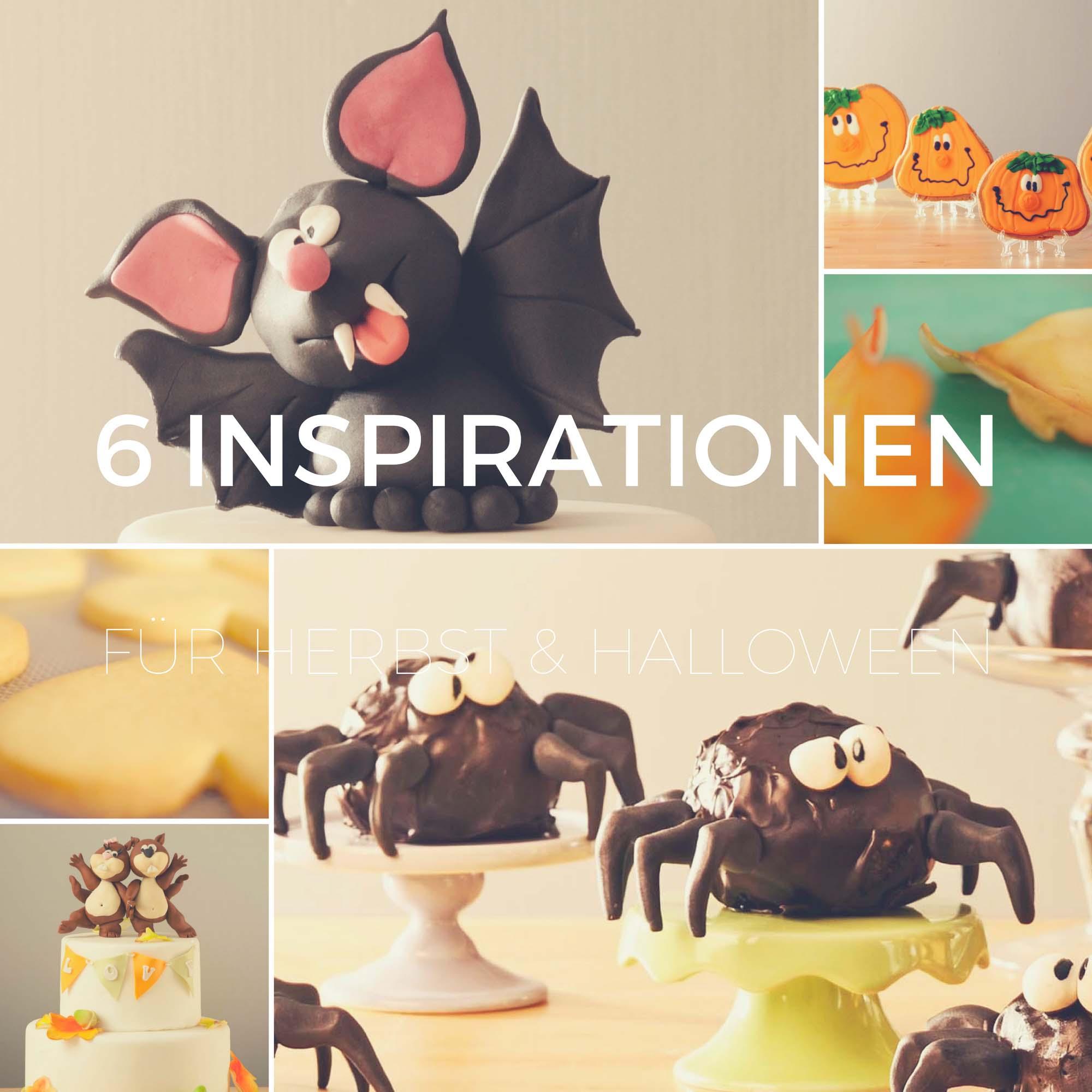 6 Inspirationen für Tortendeko im Herbst und zu Halloween von Bettys Sugar Dreams