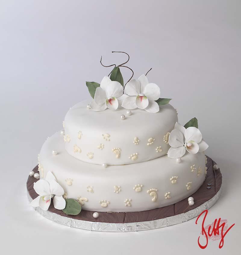 Orchidee-Motivtorte-Fondant-Holzoptik-Geburtstag-Hochzeit-Betty