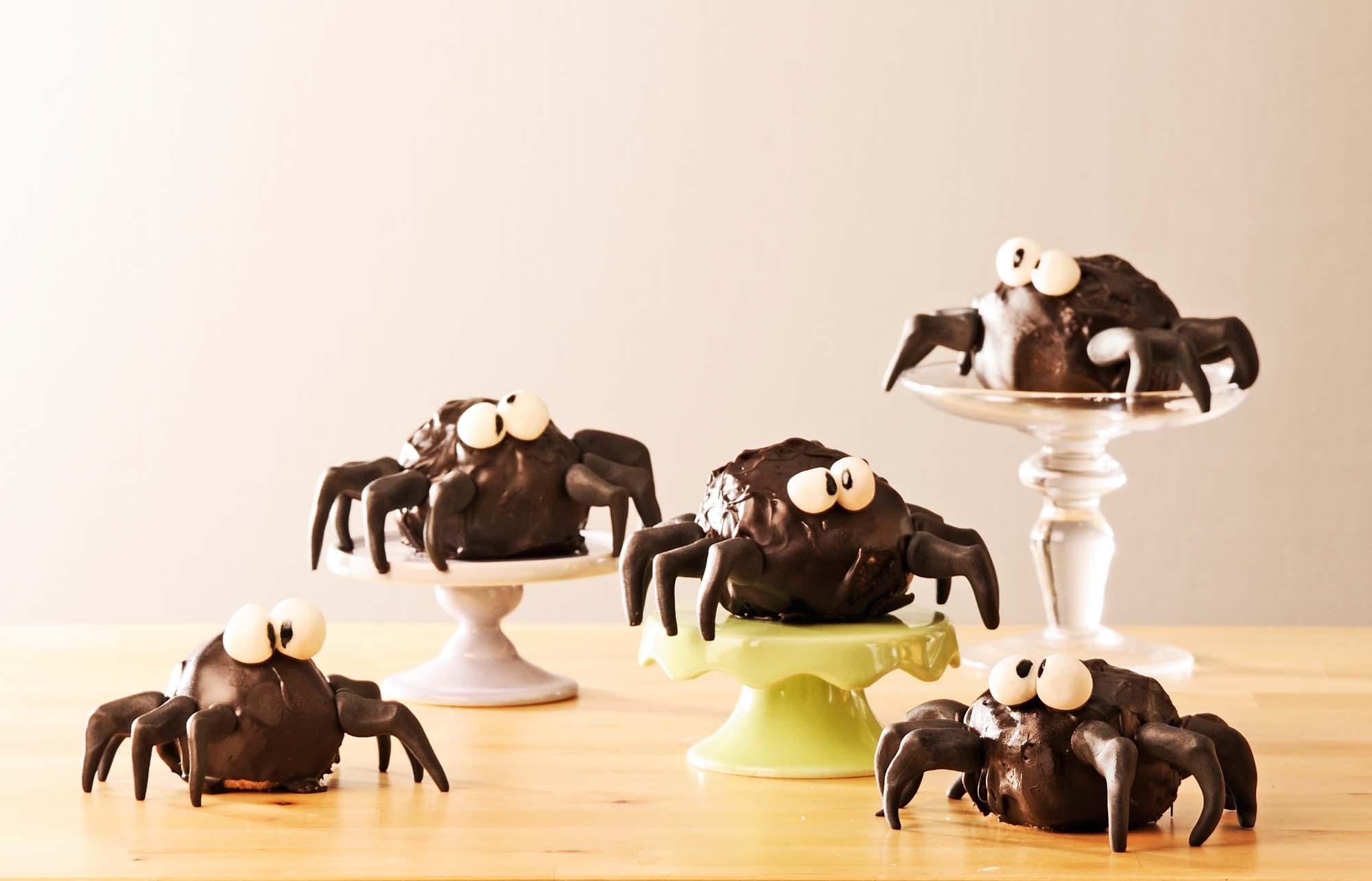 Spinnen-Cake-Pops