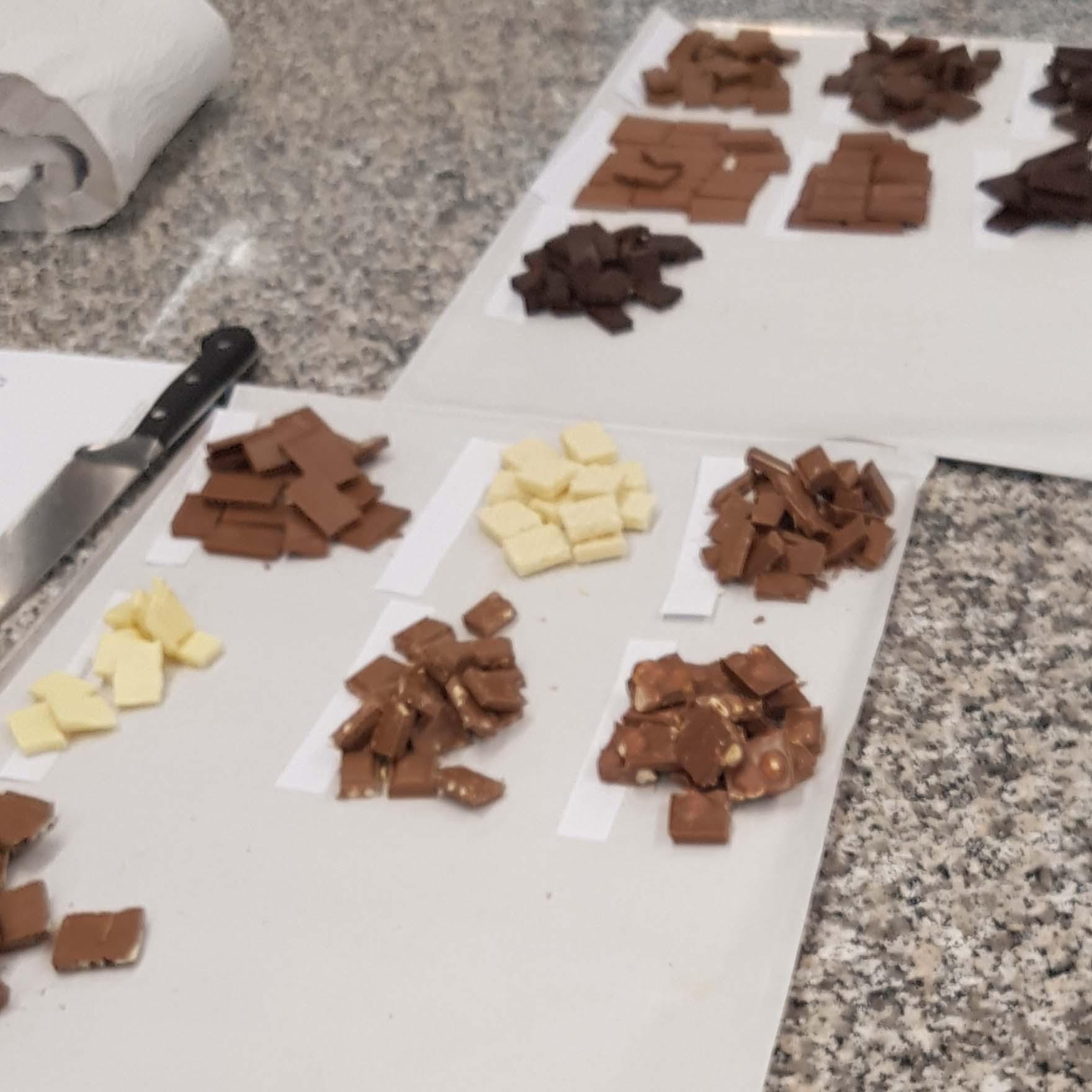 Betty - Endspurt in Richtung Schokoladen-Sommelière - Probieren und Studieren