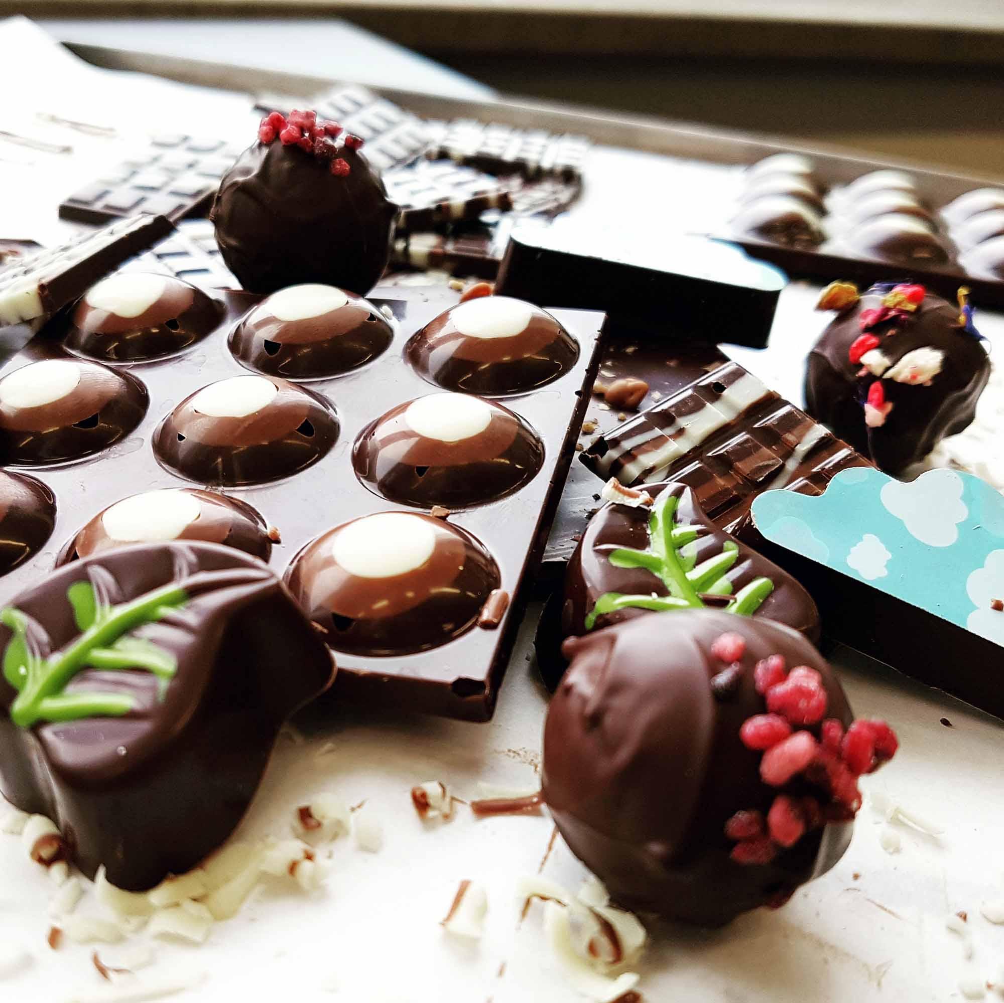 Betty - Endspurt in Richtung Schokoladen-Sommelière - Schokolade will getestet werden