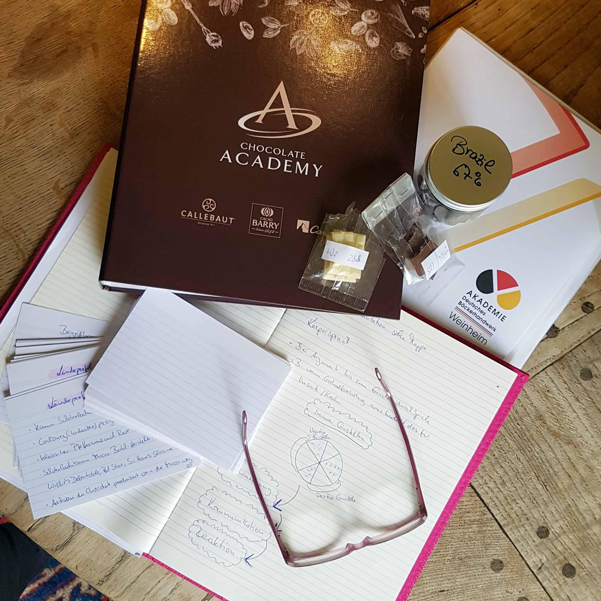 Betty - Endspurt in Richtung Schokoladen-Sommelière - Lernen, lernen, lernen