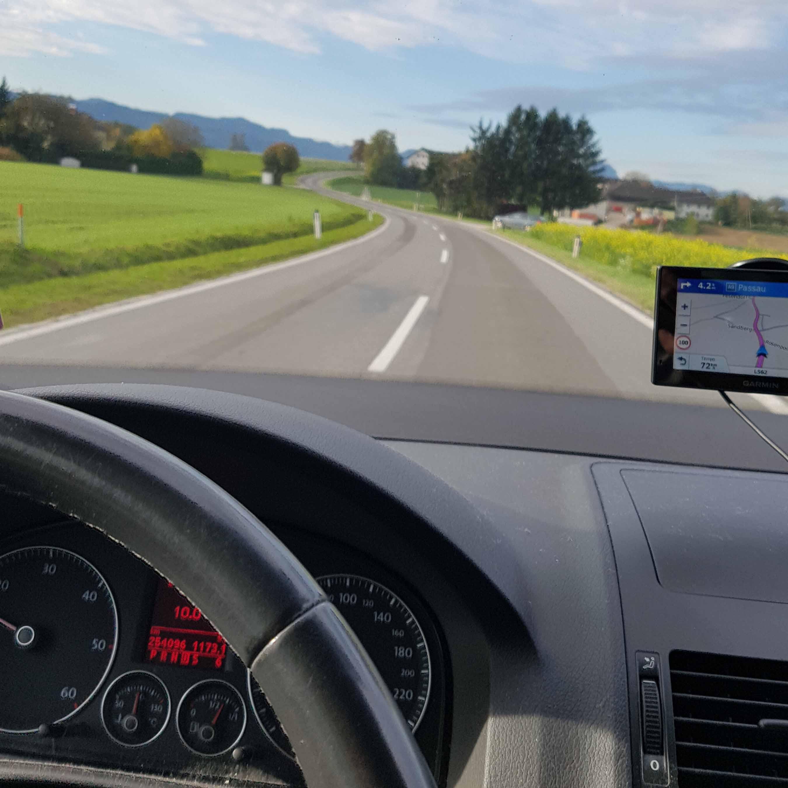 Autofahrt Wien - Hamburg - Einmal Koffer aus- und wieder einpacken und dann geht´s weiter