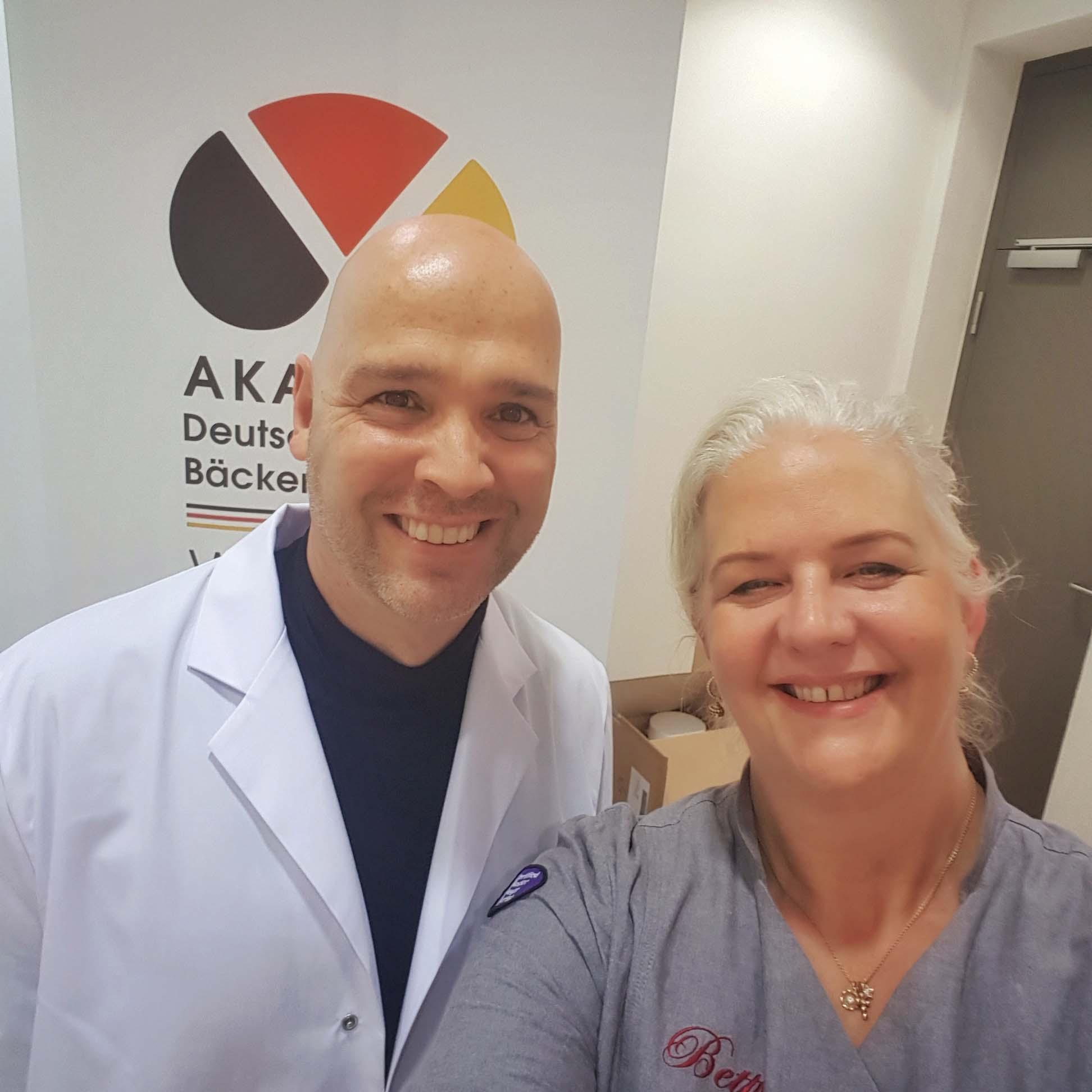 Bernd Kütscher und ich - Selfie mit dem Brotexperten