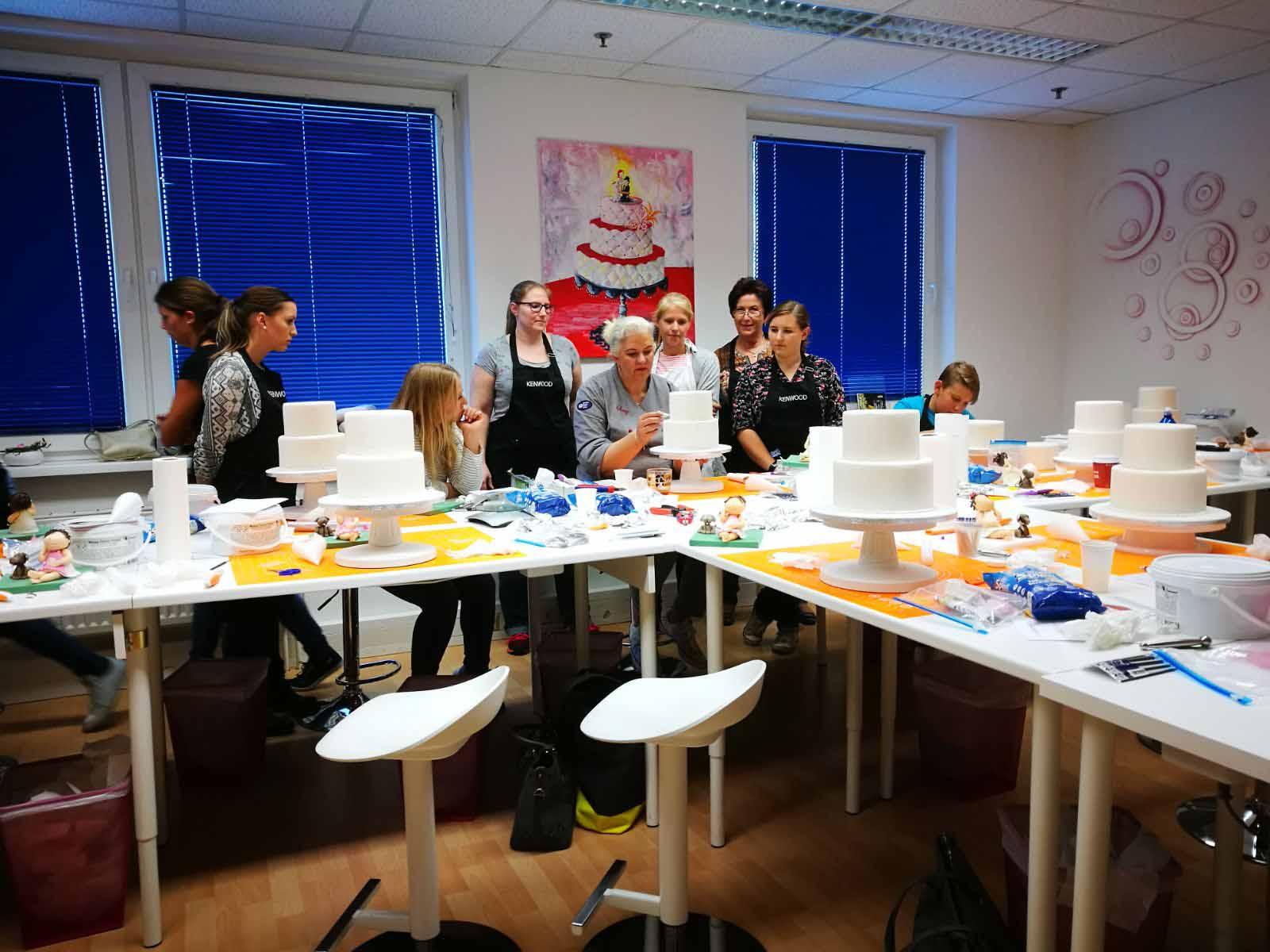 1. Kurs bei Cake Decor & More in Wien im Oktober 2017