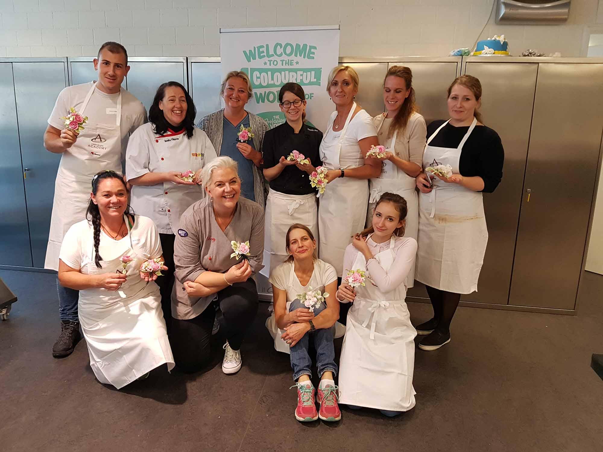 """2. Tag der """"Cake Design Weeks"""" in der Chocolate Academy by Carma in Zürich"""