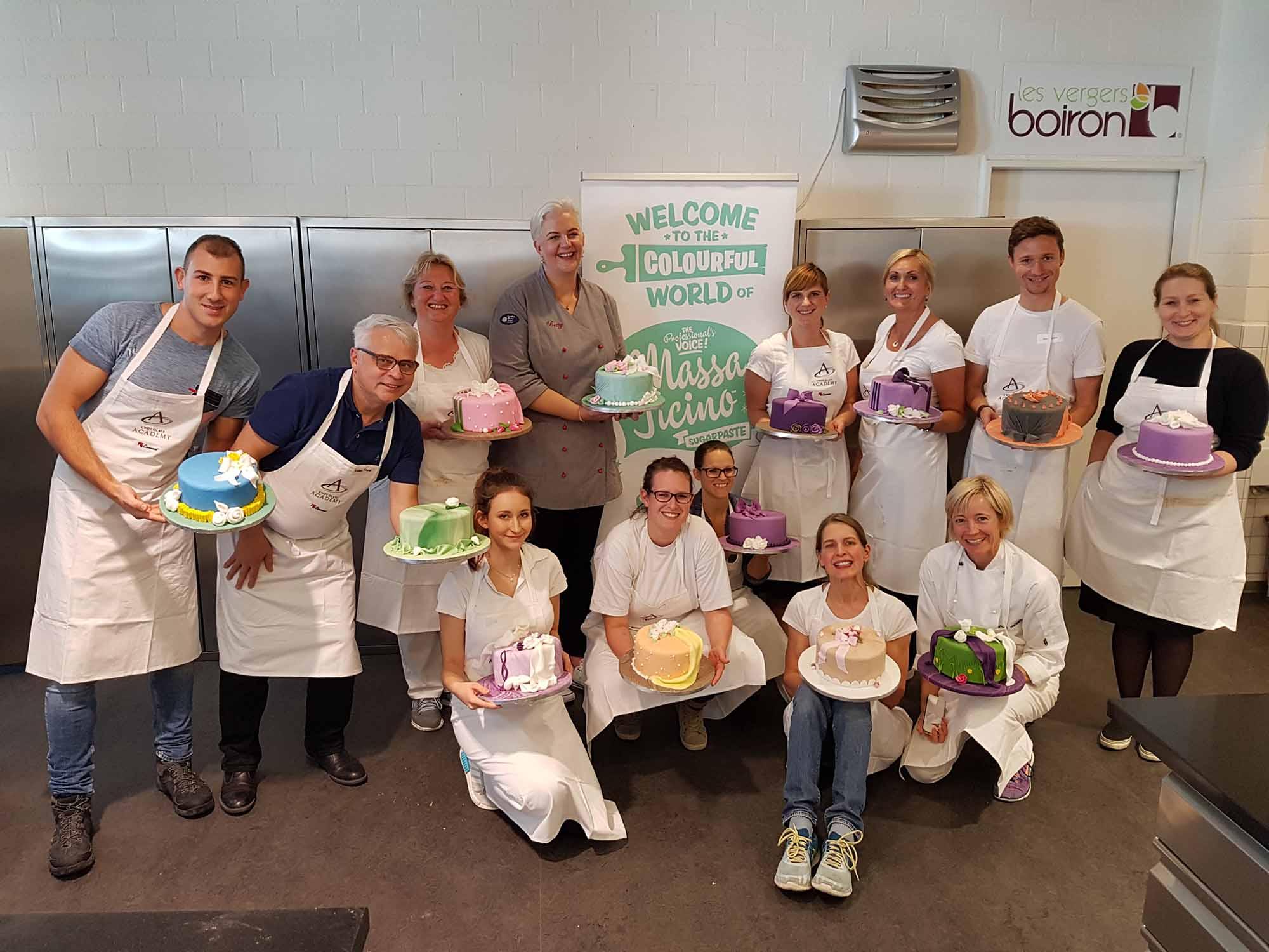 """1. Tag der """"Cake Design Weeks"""" in der Chocolate Academy by Carma in Zürich"""