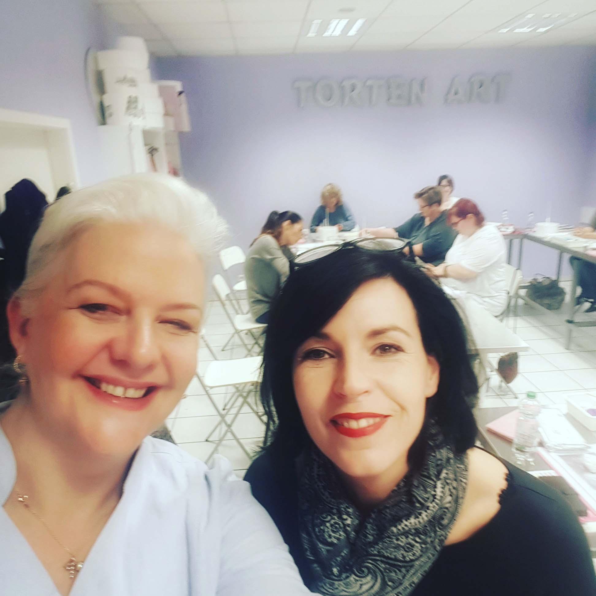 Reisetagebuch - Selfie mit Silvia von Torten-Art