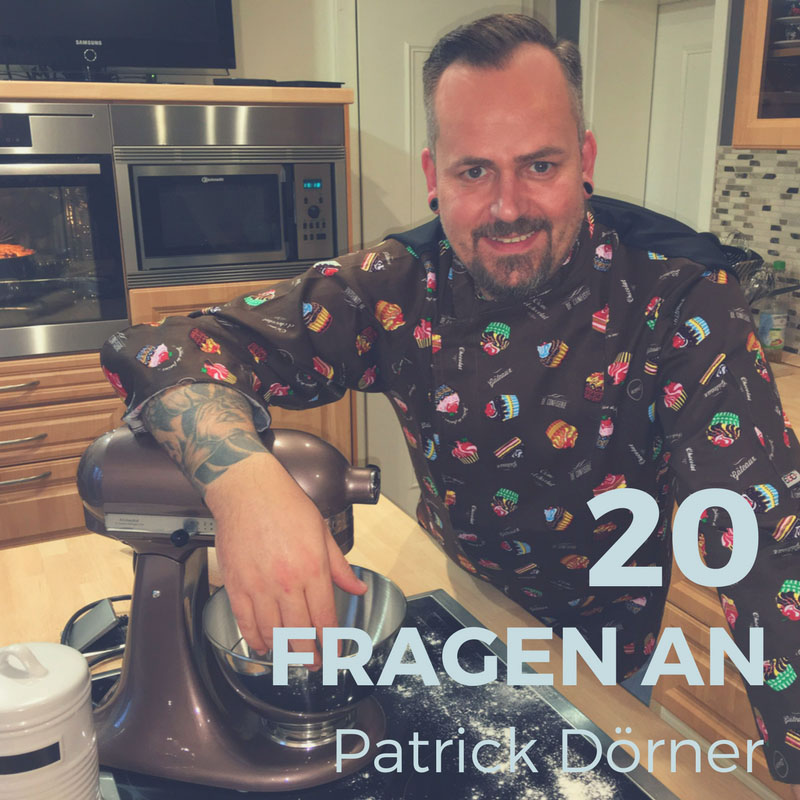 """Der Gewinner von """"Das große Backen"""" 2017 auf SAT.1 - Patrick Dörner"""