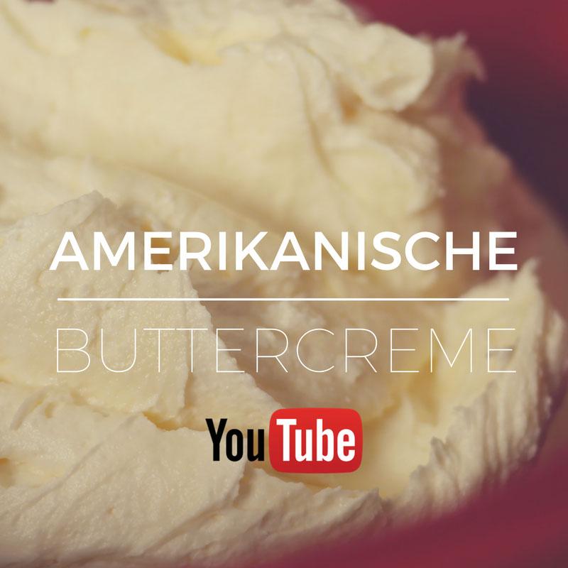 Amerikanische Buttercreme - Frosting für Motivtorten