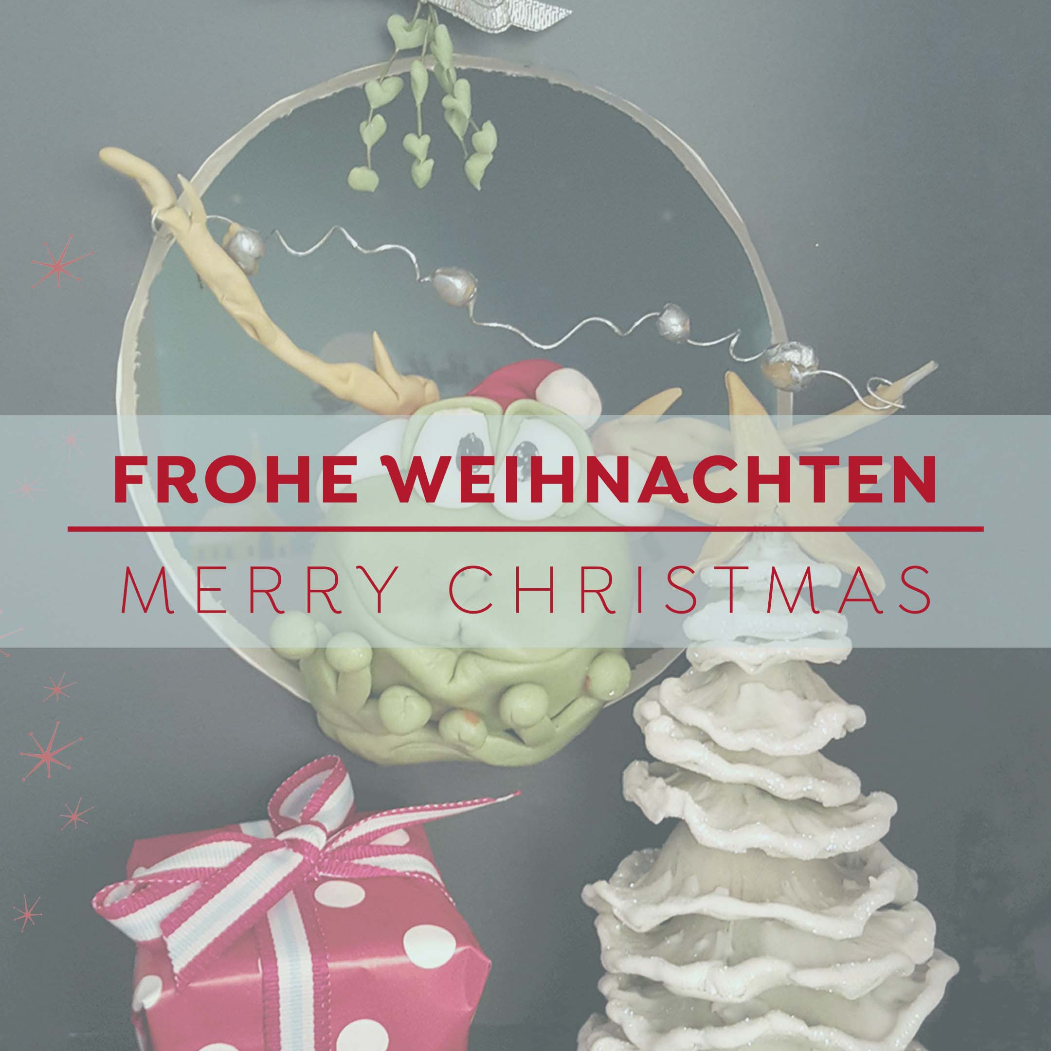 Frohe Weihnachten - Merry Christmas - Bettys Sugar Dreams