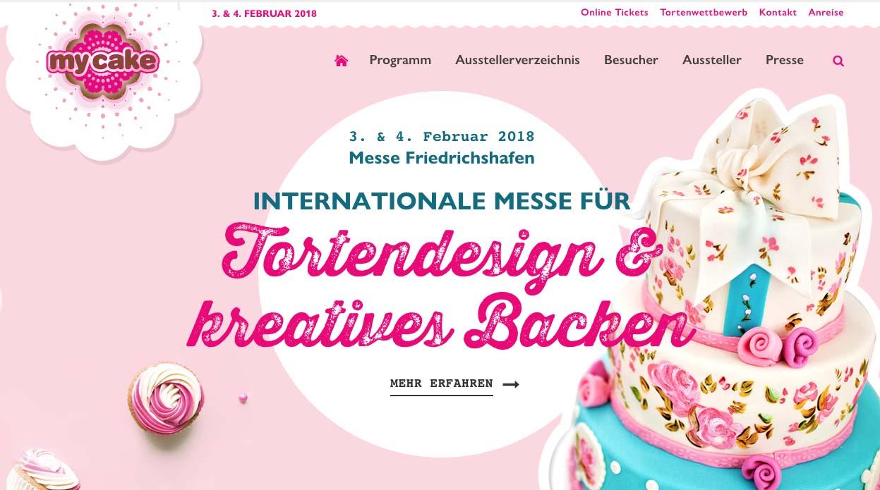 my cake Friedrichshafen - 03. und 04.02.2018