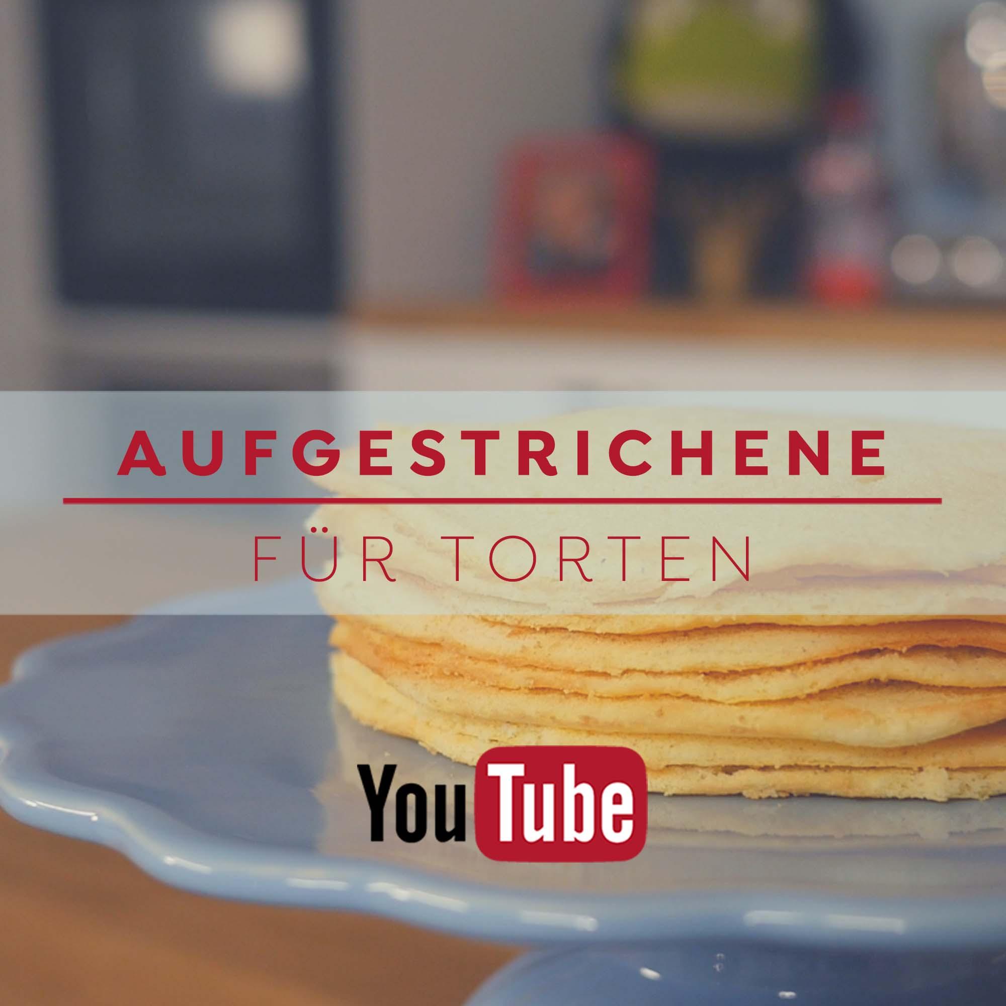 Aufgestrichene Böden - Rezept und Anleitung auf´m Blog und YouTube Kanal
