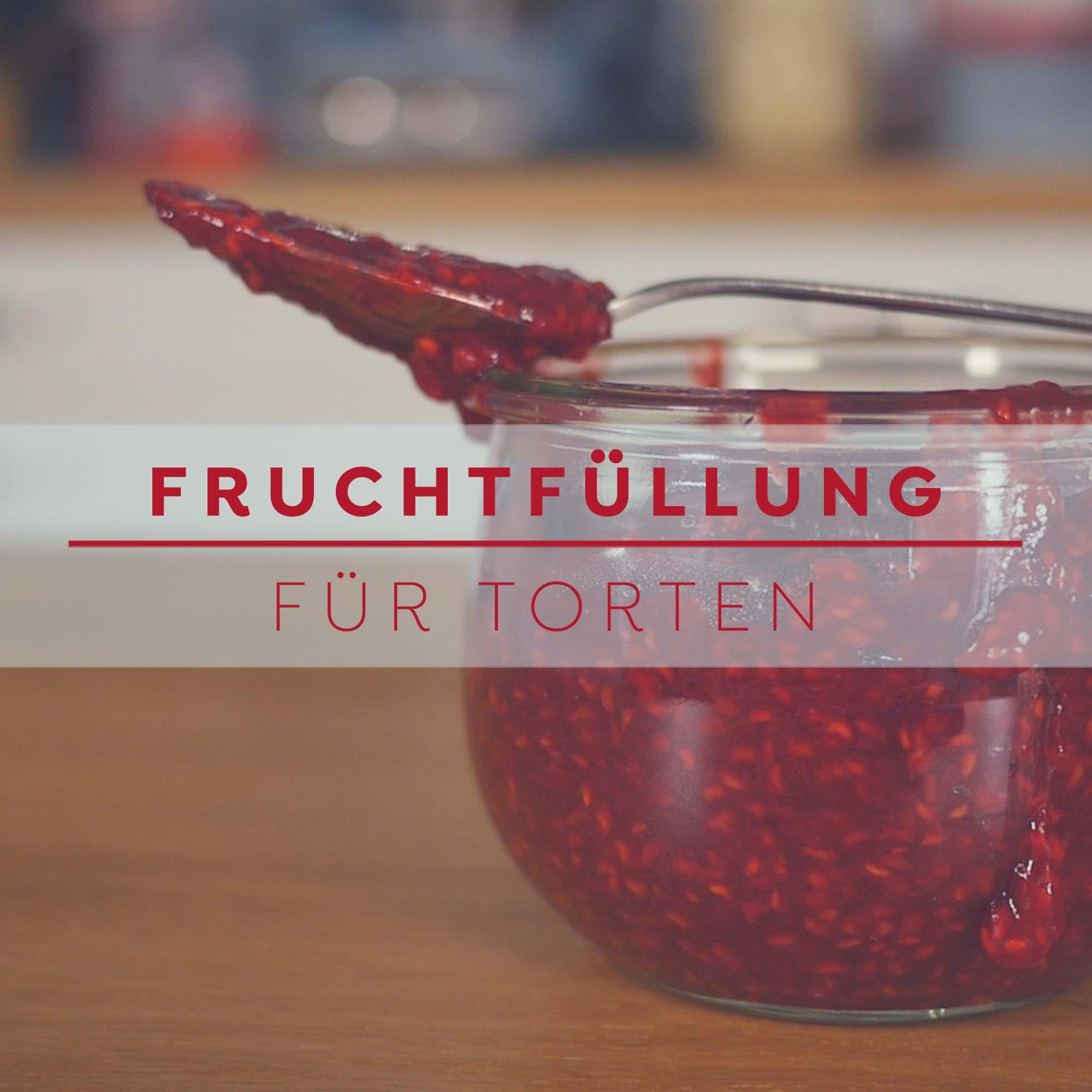 Fruchtfüllung für Torten - gekochte Früchte - Bettys Sugar Dreams Basic Rezept