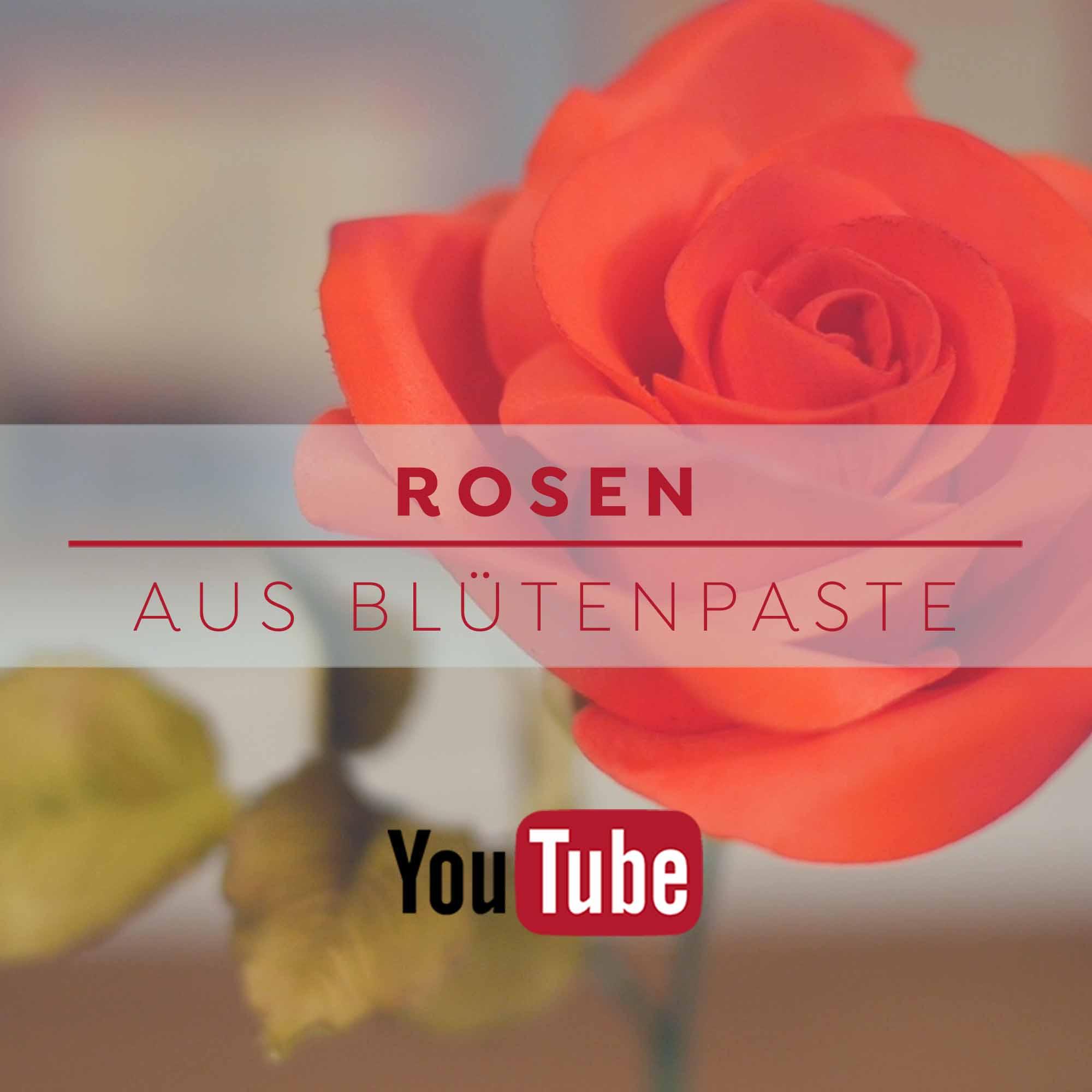 Rosen aus Blütenpaste - YouTube Anleitung von Betty´s Sugar Dreams