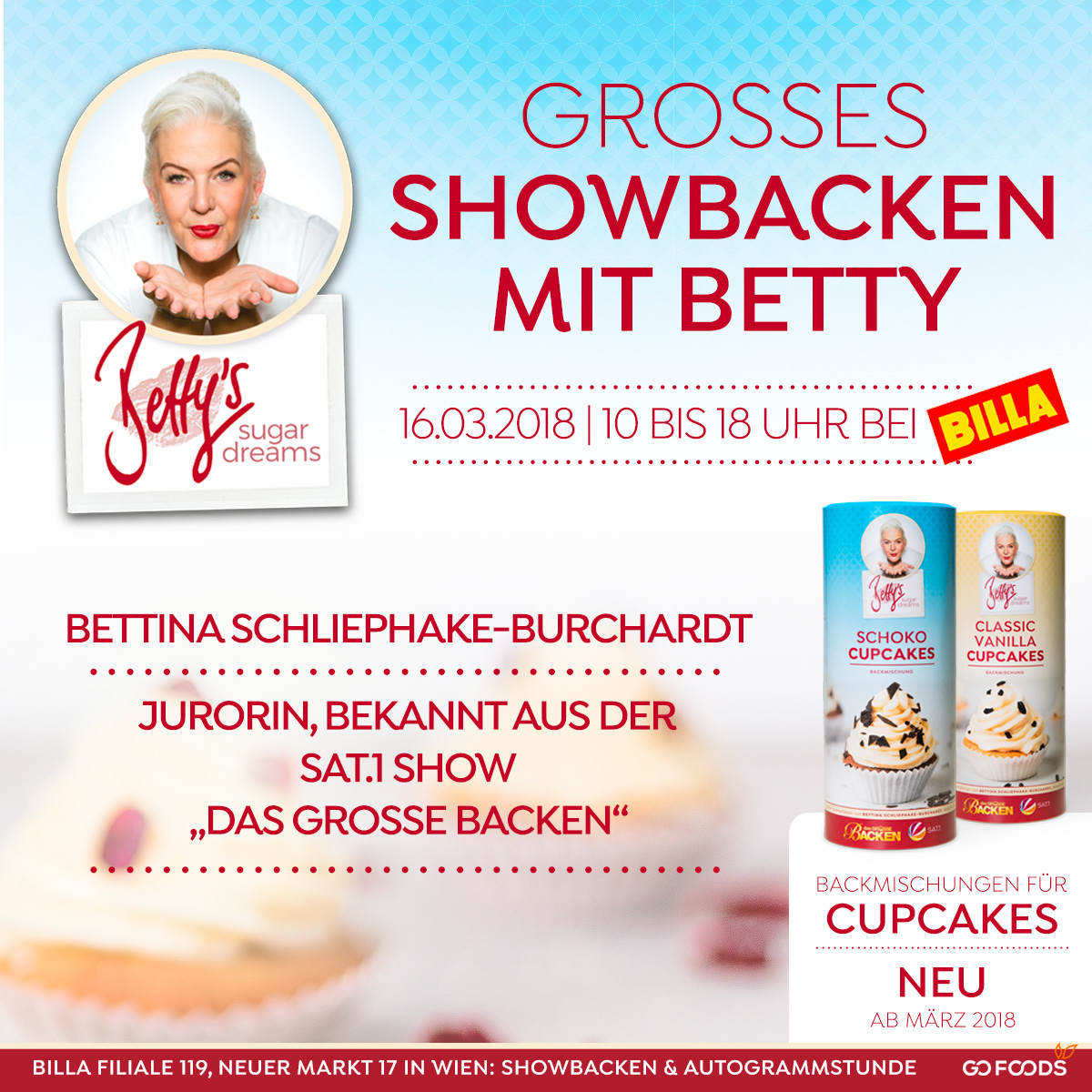 Das grosse Showbacken mit Betty