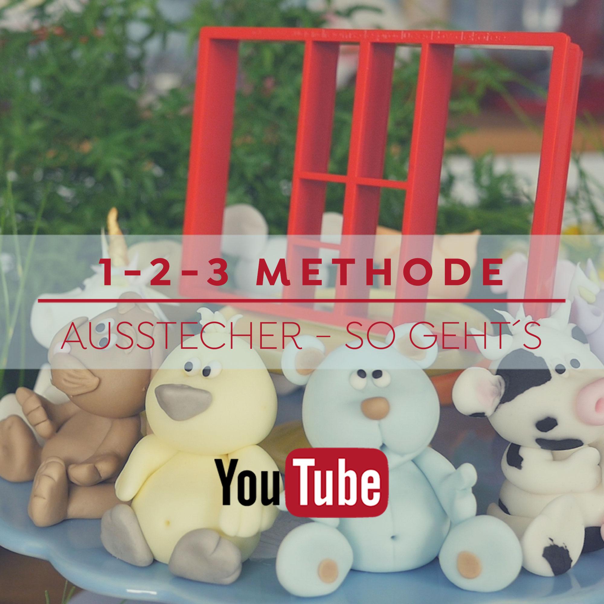 1-2-3 Methode Ausstecher